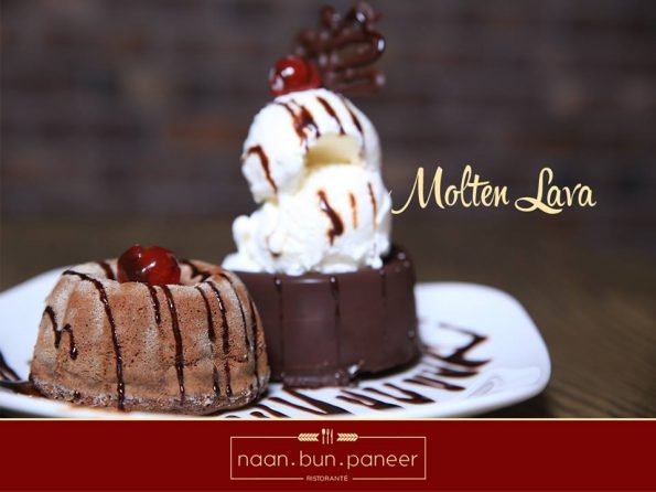 Molten Lava Cake - Naan Bun Puneer Source: Facebook
