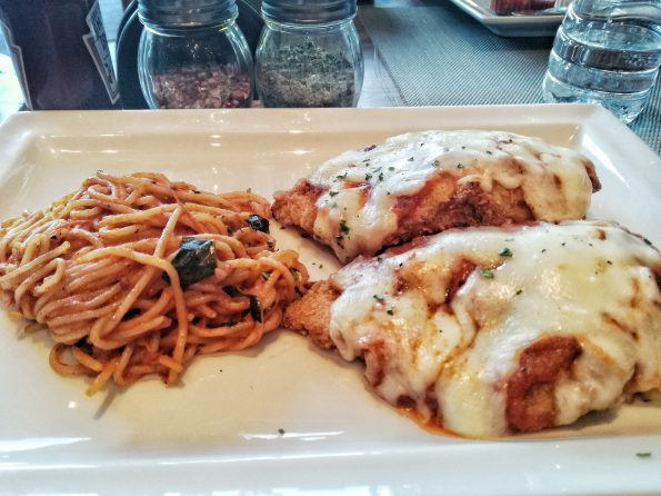 Chicken Parmigiana-Jade Cafe By China Town
