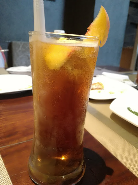 Jade Cafe By China-Town - Peach Ice-Tea