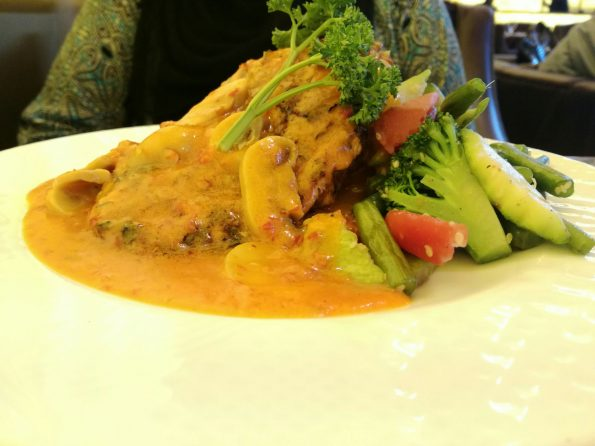 ARCADIAN CAFE SIGNATURE - CHAR GRILLED MOROCCAN CHICKEN