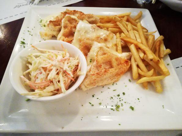 The Lahore Social - Waffle Cheese Panini