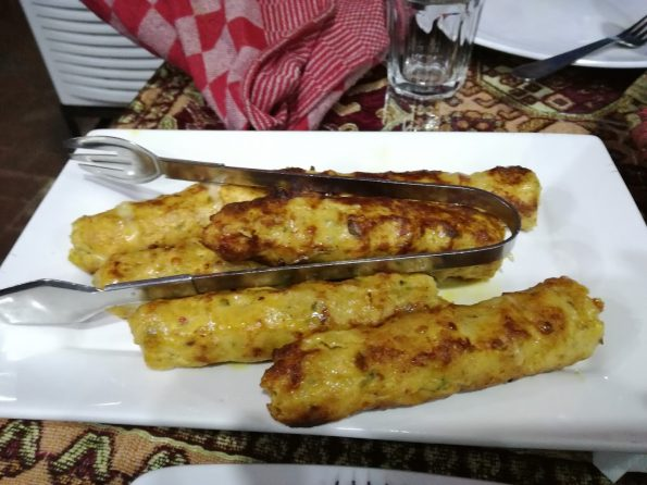 Chicken Cheese Reshmi Kabab - Qabail