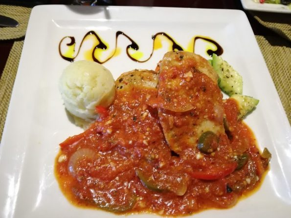 Zucchini - Mexican Chicken