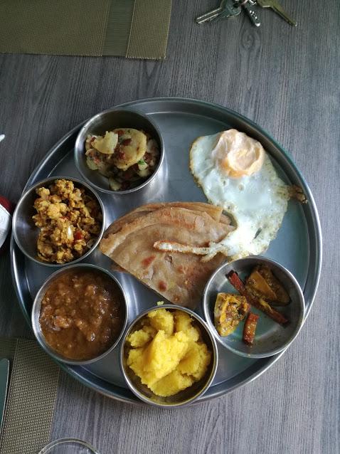 Jade Cafe By ChinaTown - Desi Breakfast Thaali