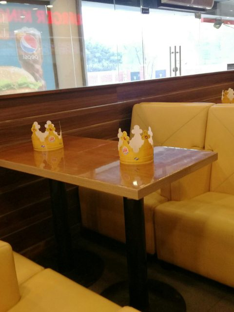 Burger King- Interior