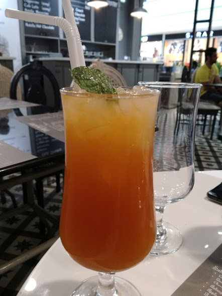 The Pantry by Polo Lounge -Peach Iced Tea