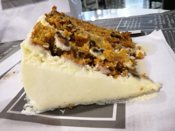 The Pantry by Polo Lounge -Carrot Cake