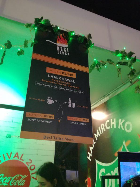 Coke Food Festival - Desi Tarka