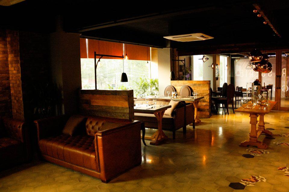 The Brasserie - Interior