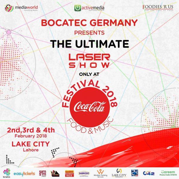 CokeFest 2018 - Laser Show