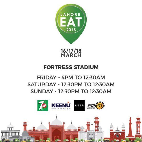 Lahore Eat - 2018