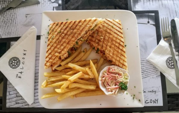 The Balcony - Spicy Jalapeno Panini