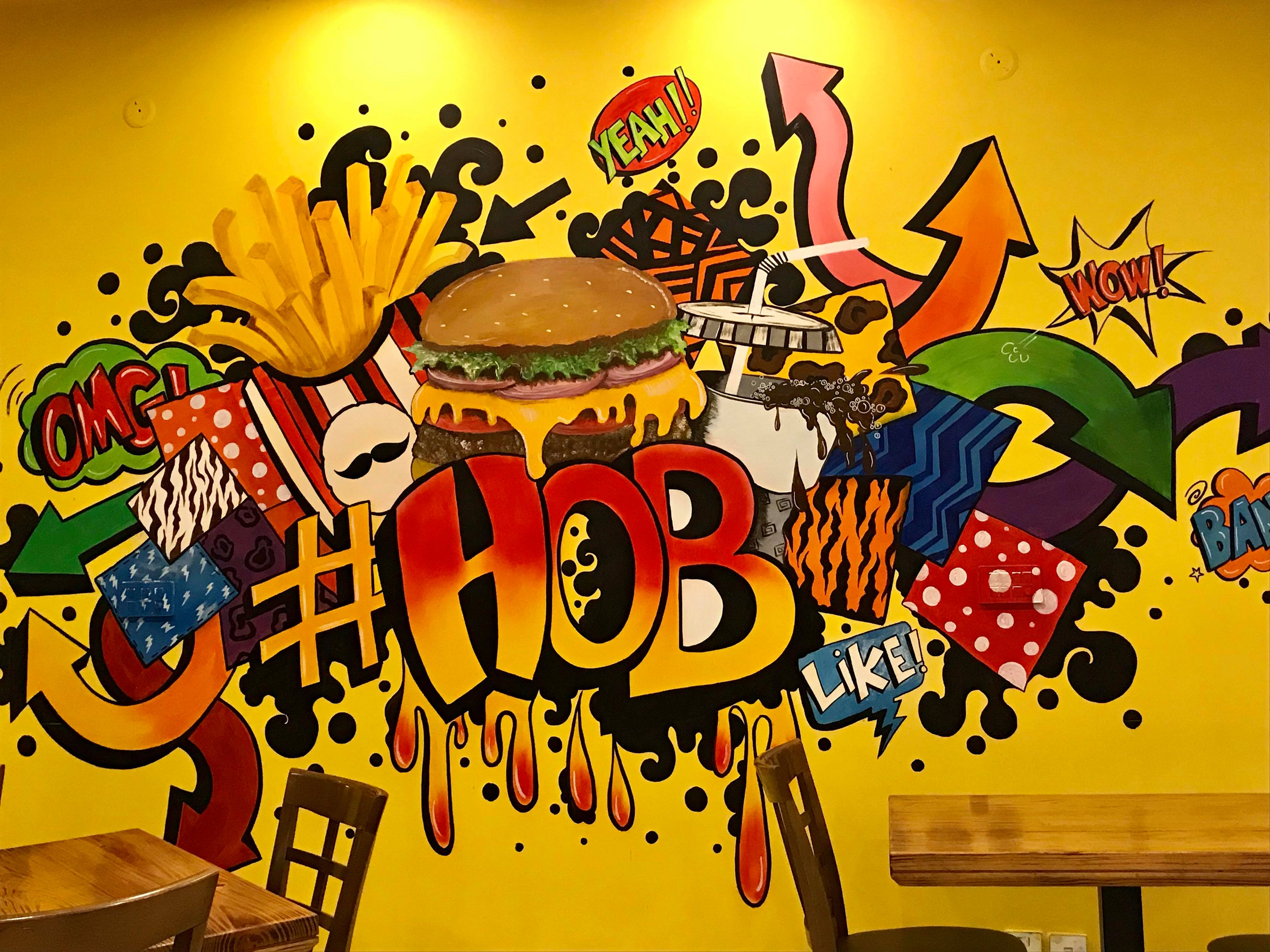 House Of Burgers - Interior