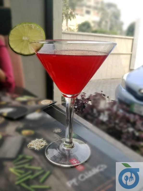 PF Chang's - Pomegranate Cosmo
