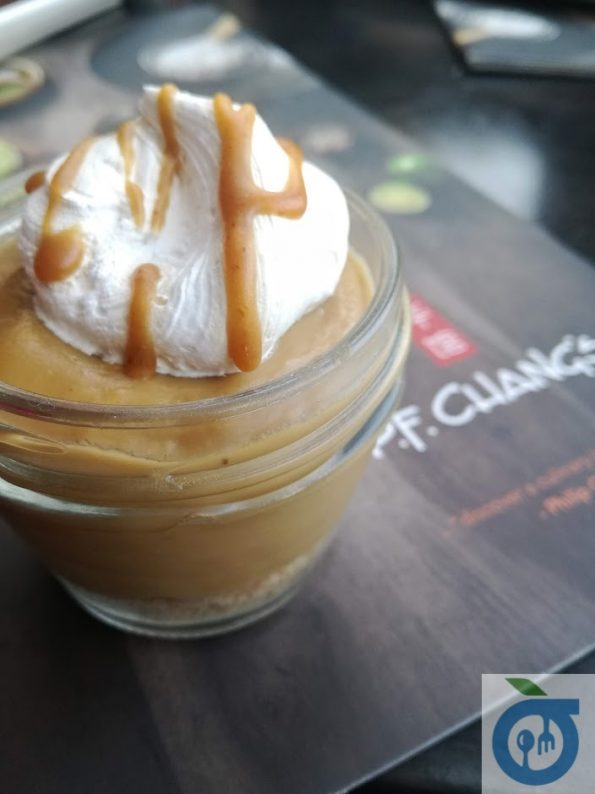 PF Chang's - Miso Butter Pudding