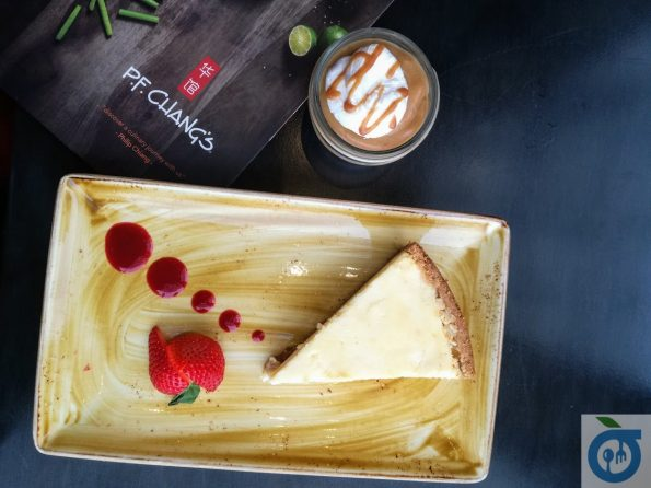 PF Chang's - New York Style Cheesecake