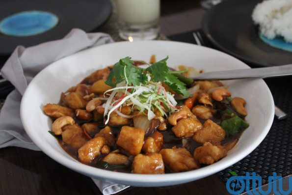 Sauteed Chicken With Cashew Nut - Fuchsia Kitchen