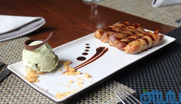 Crispy Chocolate Rolls - Fuchsia Kitchen