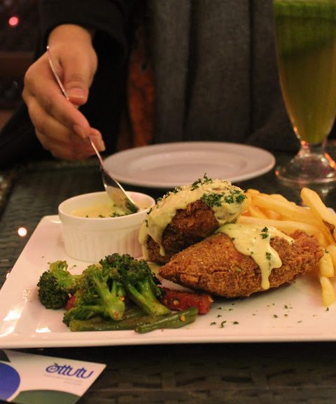 Heights N Delights - Parmesan Stuffed Chicken