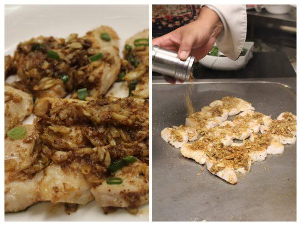 Asian Aroma - Tai Red Snapper Fish Teppanyaki)