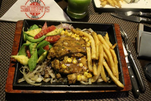 Smokeys Texas Grill - Peppercorn Chicken Steak