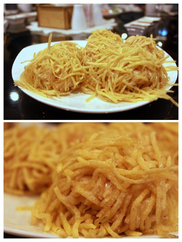 Golden Silk Prawns - Yu Long