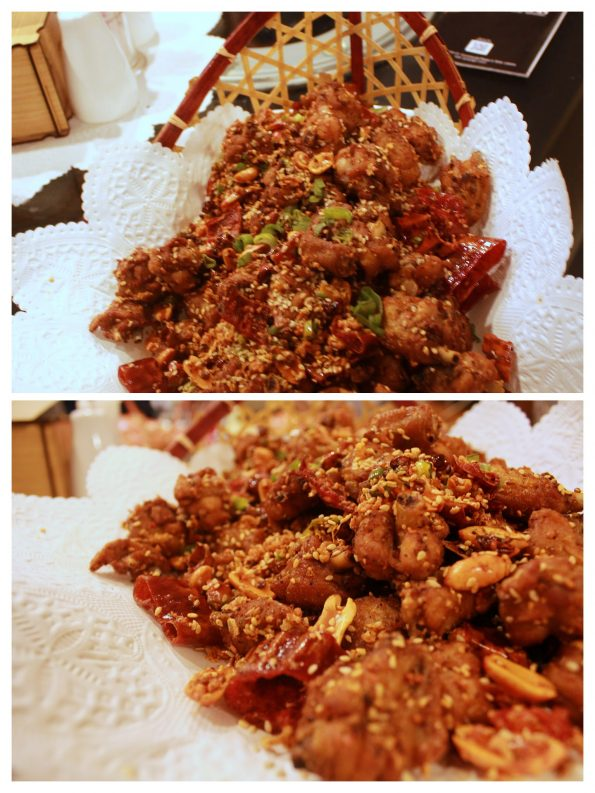 Dry Fried Spicy Chicken - Yu Long