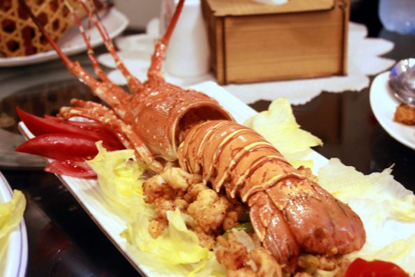 Lobster with Garlic Sauce- Yu Long