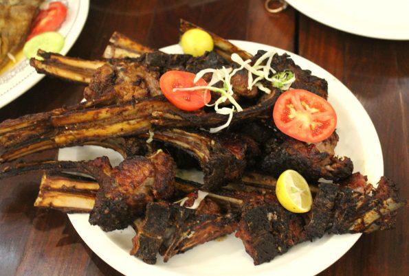 BBQ Mutton Chops - Khan Baba